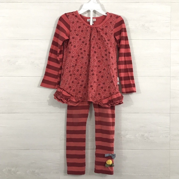 1deb11447 naartjie Matching Sets | Small 4 Red Ditsy Dot Print 2 Piece Set ...